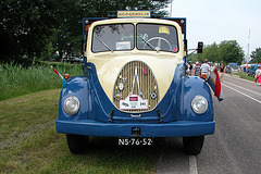 Heavy vehicles at the National Oldtimerday: 1954 Magirus-Deutz SH 3506