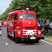 Heavy vehicles at the National Oldtimerday: 1957 International BC 160 Fire Engine