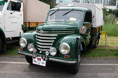 Heavy vehicles at the National Oldtimerday: 1956 Framo V901/2