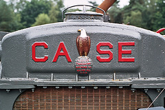 Visiting the Oldtimer Festival in Ravels, Belgium: Case logo