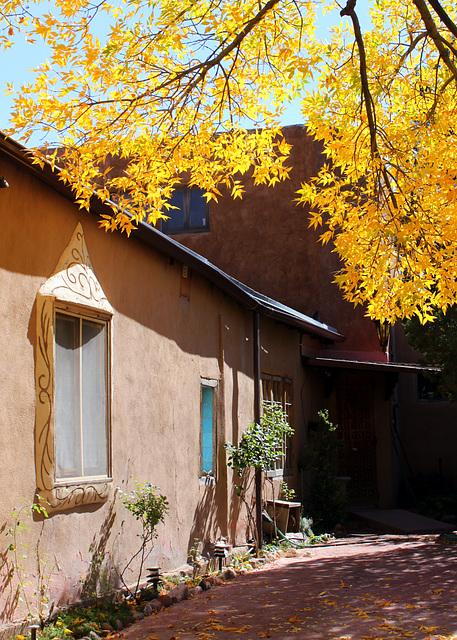 Golden courtyard