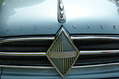 Car Badges at the National Oldtimer Day in Holland: Borgward Isabella Coupé