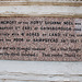 Chalybeate Well inscription