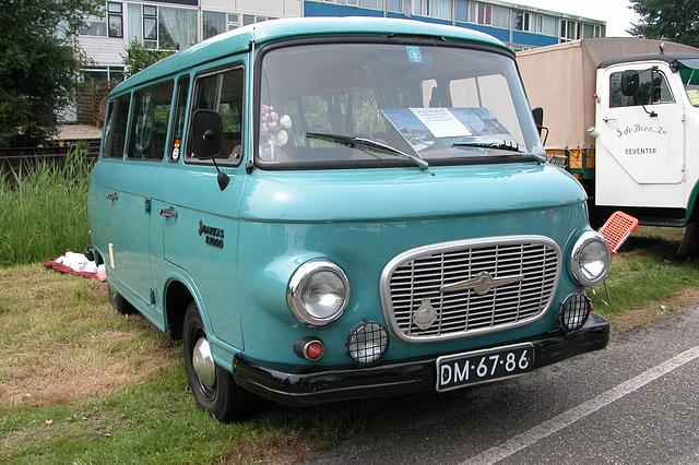 Heavy vehicles at the National Oldtimerday: 1970 Barkas B1000