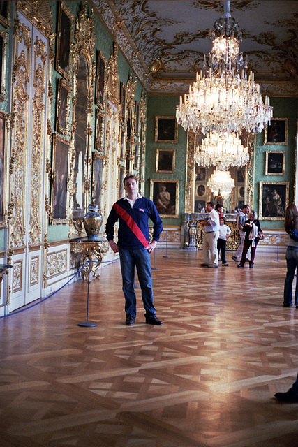 Me inside the Residenz, München
