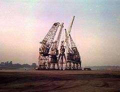 Cranes at Antwerp harbour