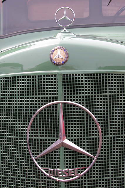Car Badges at the National Oldtimer Day in Holland