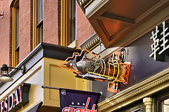 The Rocket Sign – 7th Street N.W., Between G and H Streets, Washington, D.C.