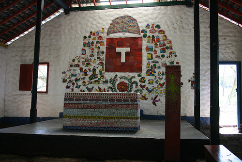 Church Interior – Islas Solentiname