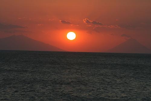 Sunset Over Ometepe