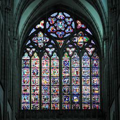 Vitraux du choeur de la Cathédrale de Dol-de-Bretagne