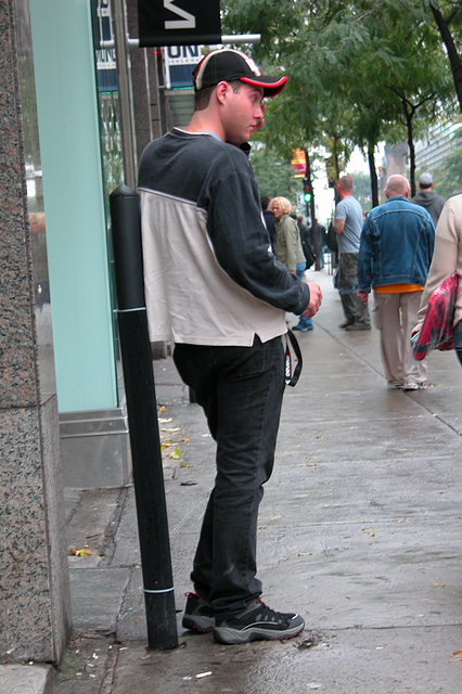 Street fashion for the young male