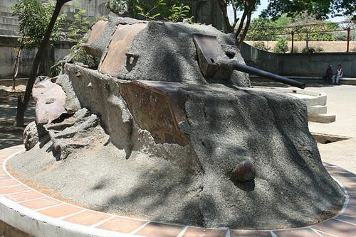 A Tank in Concrete