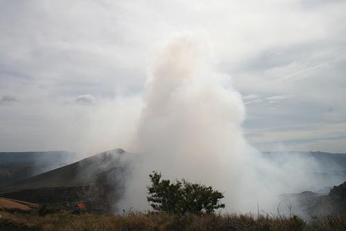 Sulphurous Cloud From Masaya