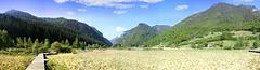 Laghetto d' Ampola - Naturlehrpfad. Blick nach SW.  ©UdoSm