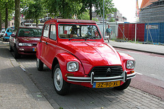 National Oldtimer Day in the Netherlands: 1983 Citroën Dyane 6