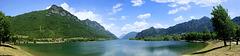 Lago d'Idro. Blick zum nördlichen Ende des Sees.  ©UdoSm