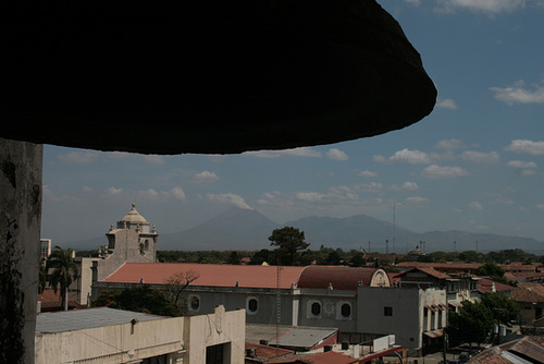 Active Volcano View From Cathedral