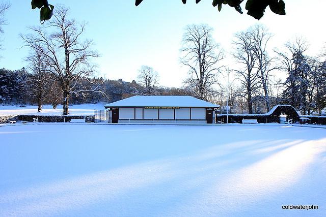 Snow Bowling anyone (Grant Park Bowling Club) 5283141691 o