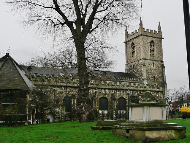 st.dunstan's church, stepney, london