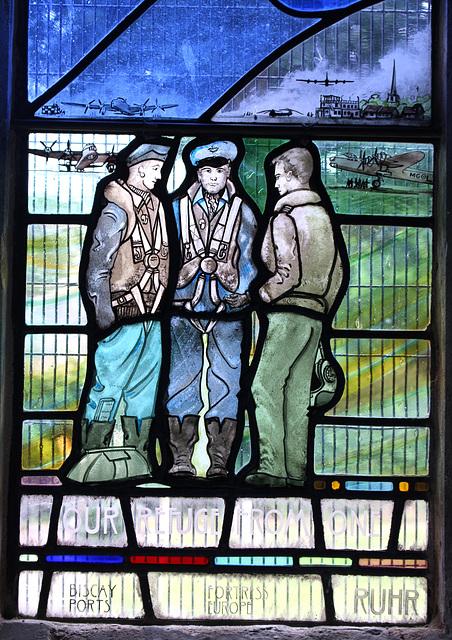 7 Squadron Memorial Window, All Saints Church, Longstanton, Cambridgeshire