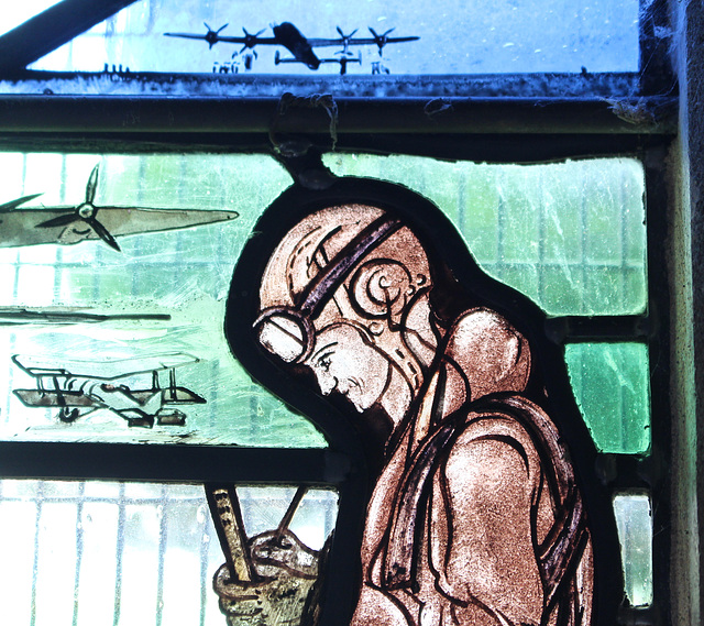 7 Squadron Memorial Window, All Saints Church, Longstanton, Cambridgeshire