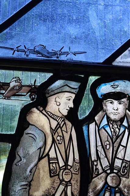 7 Squadron Memorial Window, All Saints Churchm, Longstanton, Cambridgeshire