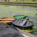 Coracles on the canal
