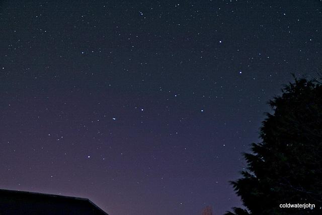 Starry, starry night - The Great Bear - Ursa Major