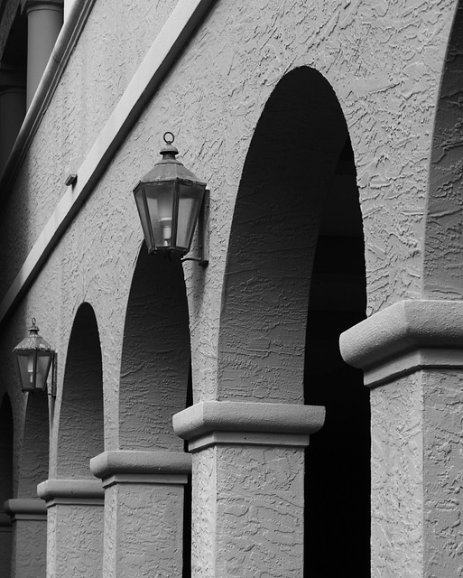 Arches and lanterns