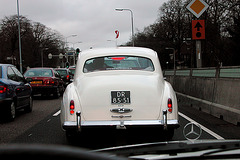 On the road: 1959 Rolls Royce Silver Cloud I