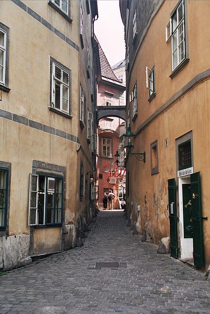 Alley in Vienna