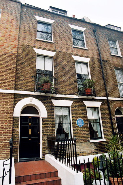 The house of Captain Bligh in London