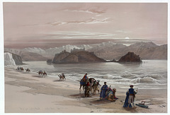 Ile de Graia, Golfe d'Akabah (1839)
