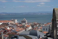 View over Baixa district, Lisbon