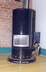 Dutch gas stove