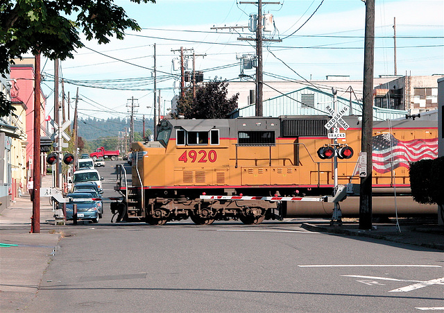 Union Pacific 4920 in Portland