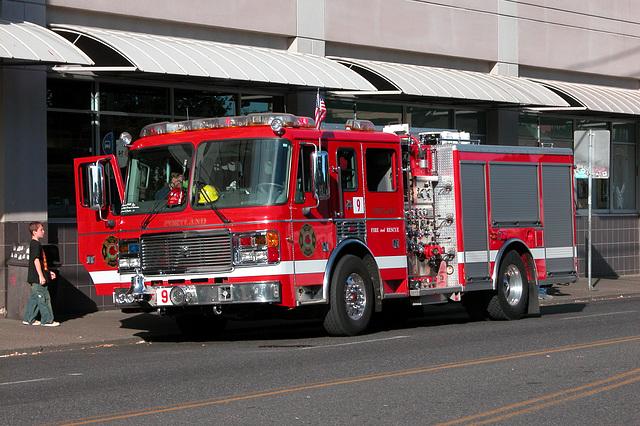 Portland Fire Engine
