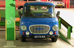1973 Barkas B1000 in a happy garage