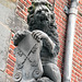 Things on Rooftops: nr. 8  Lion Holding The Coat of Arms of Leiden