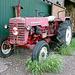 Farm equipment: abandoned International Harvester McCormick tractor