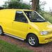 Something yellow: 1996 Nissan Vanette E 2.3D