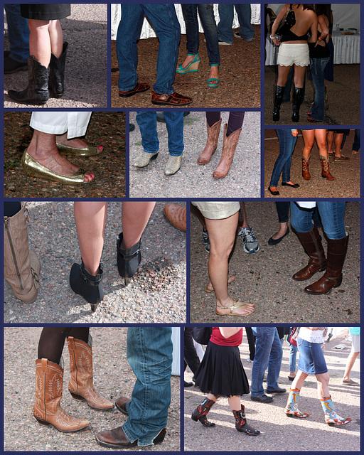 Footwear, Santa Fe Wine & Chile Fiesta 2012