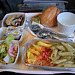 Meals on a plane: noodles