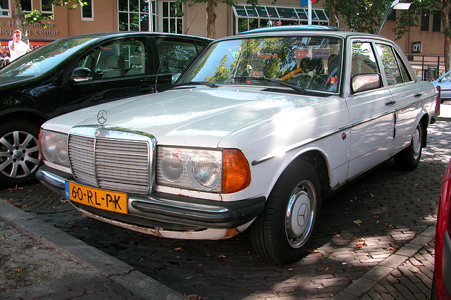 A well-used 1980 Mercedes-Benz 240 D