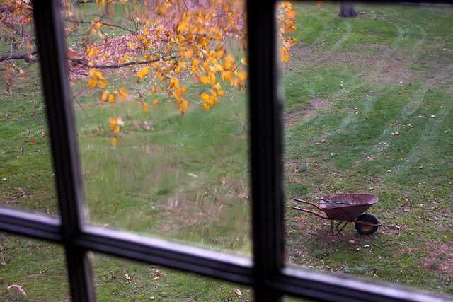 Wheelbarrow, Ford Mansion