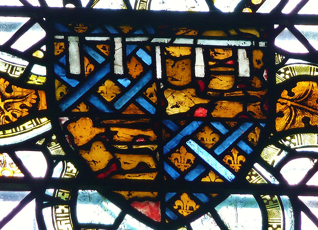 ely cathedral, royal arms