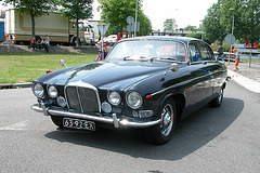 National Oldtimer Day in Holland: 1968 Jaguar 420 G