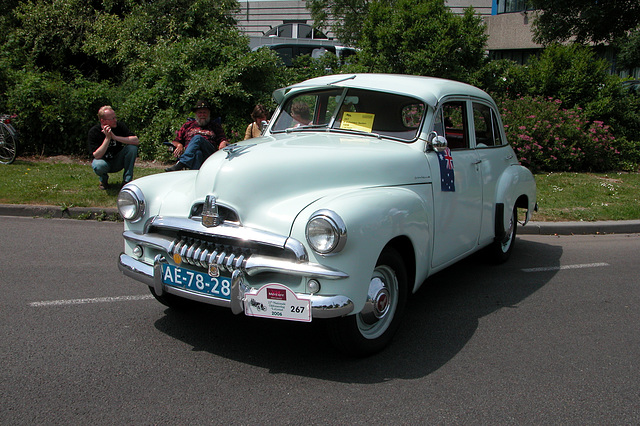 National Oldtimer Day in Holland: 1956 F.J. Holden Sedan