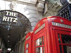 Ritzy phone boxes